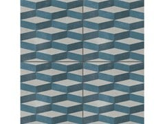 - Glazed stoneware wall/floor tiles AZULEJ GRIGIO CUBE - MUTINA