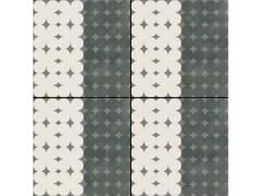 - Glazed stoneware wall/floor tiles AZULEJ NERO TREVO - MUTINA