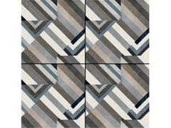 - Glazed stoneware wall/floor tiles AZULEJ NERO PRATA - MUTINA