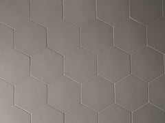 - Porcelain stoneware wall tiles PHENOMENON HEXAGON FANGO - MUTINA