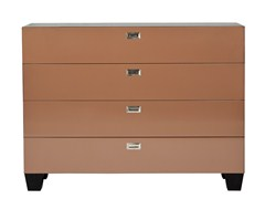 - Lacquered oak chest of drawers MEDICIS | Lacquered chest of drawers - AZEA