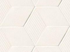 - Indoor porcelain stoneware wall/floor tiles TEX WHITE - MUTINA