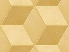 - Indoor porcelain stoneware wall/floor tiles TEX YELLOW - MUTINA