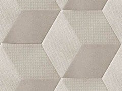 - Indoor porcelain stoneware wall/floor tiles TEX GREY - MUTINA
