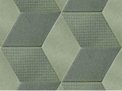 - Indoor porcelain stoneware wall/floor tiles TEX OLIVE - MUTINA