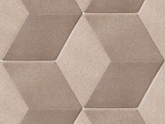 - Indoor porcelain stoneware wall/floor tiles TEX BROWN - MUTINA