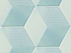 - Indoor porcelain stoneware wall/floor tiles TEX BLUE - MUTINA