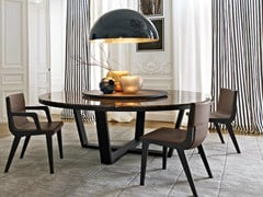 - Round marble table with Lazy Susan XILOS | Marble table - Maxalto, a brand of B&B Italia Spa