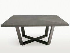 - Square wooden table XILOS | Square table - Maxalto, a brand of B&B Italia Spa