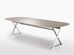 - Rectangular MDF table PATHOS | Rectangular table - Maxalto, a brand of B&B Italia Spa