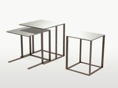 - Modular square mirrored glass coffee table ELIOS   Square coffee table - Maxalto, a brand of B&B Italia Spa