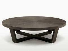 - Round solid wood coffee table XILOS   Round coffee table - Maxalto, a brand of B&B Italia Spa