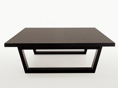 - Square solid wood coffee table XILOS | Square coffee table - Maxalto, a brand of B&B Italia Spa