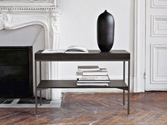 - Rectangular oak console table EBE | Console table - Maxalto, a brand of B&B Italia Spa