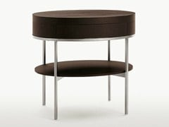 - Oak coffee table / bedside table EBE | Oval bedside table - Maxalto, a brand of B&B Italia Spa