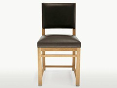 - Upholstered solid wood chair TETI | Chair - Maxalto, a brand of B&B Italia Spa