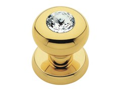 - Chromed brass door knob with Swarovski® Crystals ELIKA CRYSTAL | Door knob - LINEA CALI'