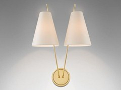 - Wall lamp with fixed arm ZWEIG | Brass wall lamp - J.T. Kalmar