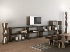 - Modular aluminium TV cabinet BRERA | TV cabinet - altreforme