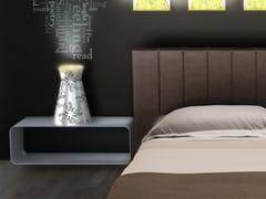 - Rectangular aluminium bedside table BRERA | Bedside table - altreforme
