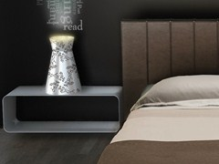 - Indirect light aluminium table lamp ULUS | Table lamp - altreforme