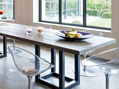 - Rectangular dining table ZOE | Rectangular table - Ph Collection