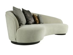 - 4 seater fabric sofa IGNACIO L - Hamilton Conte Paris