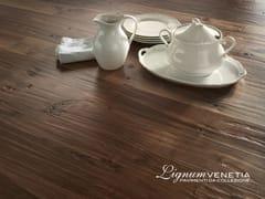 - Brushed walnut parquet PALAZZO DUCALE - Lignum Venetia