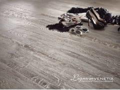 - Brushed oak parquet PERLE DI LUCE - Lignum Venetia