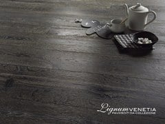 - Brushed oak parquet VIA LATTEA - Lignum Venetia