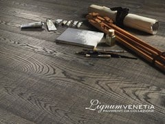 - Brushed oak parquet CREATIVO - Lignum Venetia