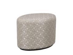 - Upholstered fabric pouf BABETTE   Fabric pouf - Hamilton Conte Paris