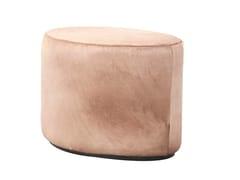 - Upholstered pouf BABETTE   Leather pouf - Hamilton Conte Paris
