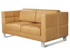 - 2 seater leather sofa ROMYS | 2 seater sofa - AZEA