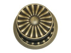 - Chromed brass door knob DAISY | Door knob - LINEA CALI'