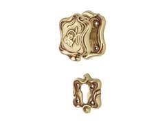 - Chromed brass door knob with lock LIBERTY | Door knob with lock - LINEA CALI'