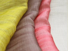 - Solid-color polyester fabric for curtains CALIOPE - Equipo DRT