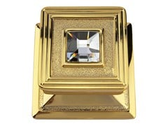 - Chromed brass door knob OPERA CRYSTAL | Door knob - LINEA CALI'