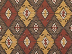 - Upholstery fabric with graphic pattern TABRIZ - Equipo DRT