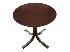 - Round wood veneer table TALOS | Wood veneer table - Hamilton Conte Paris