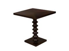 - Square wooden table TUCSON | Square table - Hamilton Conte Paris