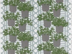 - Fabric with floral pattern for curtains PATMOS - Equipo DRT