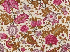 - Printed cotton fabric with floral pattern REGENT - Equipo DRT