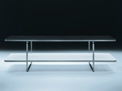 - Rectangular wooden coffee table CARLOTTA | Rectangular coffee table - FLEXFORM