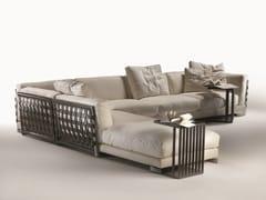 - Corner sectional fabric sofa with removable cover CESTONE | Corner sofa - FLEXFORM