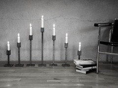 - Iron candlestick ART TABLE - Röshults