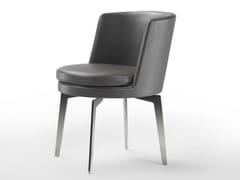 - Swivel leather chair FEEL GOOD | Leather chair - FLEXFORM