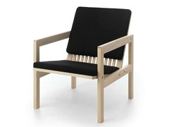 - Upholstered easy chair with armrests ARKITECTURE YKA2 - Nikari