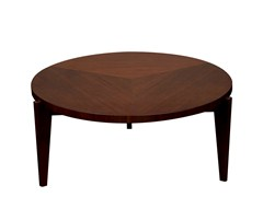 - Round wooden coffee table ARHUS | Round coffee table - Hamilton Conte Paris