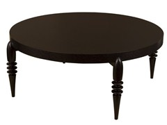 - Low round wooden coffee table TURNER | Round coffee table - Hamilton Conte Paris